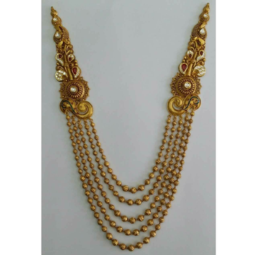 22KT Yellow Gold Ethical Bridal Necklace Set