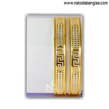 916 Gold CNC Bangles NB - 1407