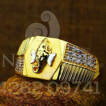 Casting Cz Gents Ring 916