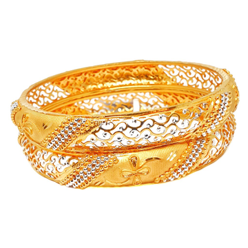 One gram gold forming patla bangles mga - bge0217