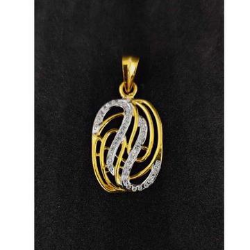 22k Men's Fancy Gold Pendant P-44524