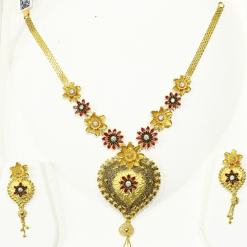 Antique necklase set-ant 001