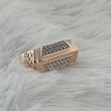 rose gold ring by