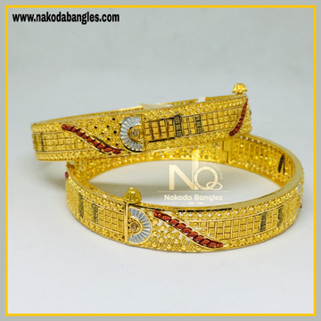 916 Gold Calcutty Bangles NB - 441