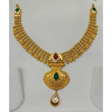 916 Kundan Jadtar Necklace