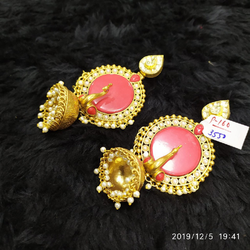 designer peacock antique earrings#192