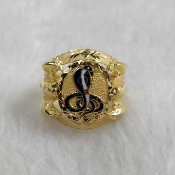 Gold Goga Maharaj Ring