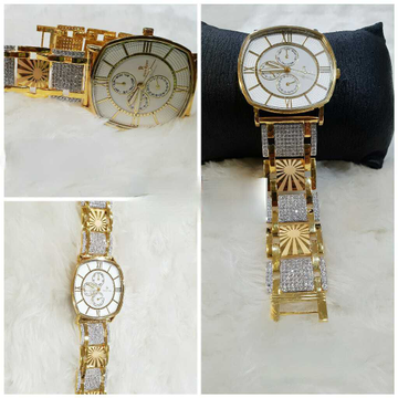22k Gents Exclusive Gold Watch G-1002