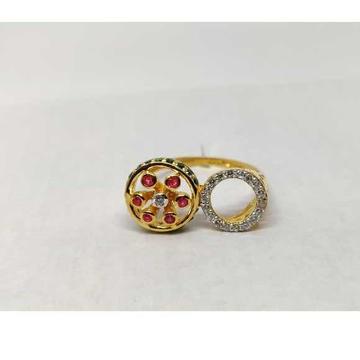 916 Ladies  Fancy Gold Ring Lr-17060