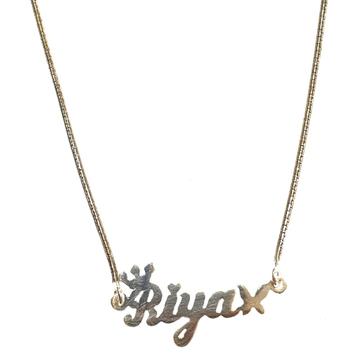 Silver Chain Pendant MGA - CP0010
