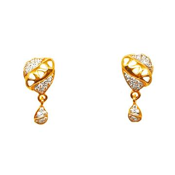 22K Gold Designer Earrings MGA - BTG0003