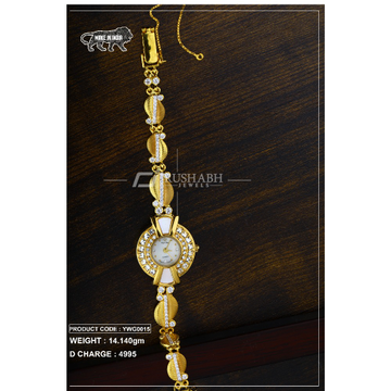 18 Carat Gold Ladies gold watch ywg0015
