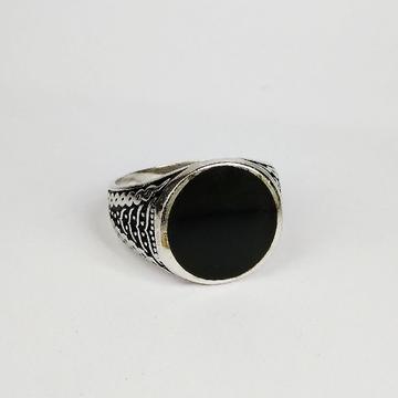 92.5 sterling silver enamel ring ml-117