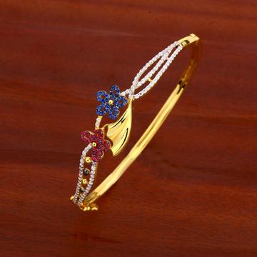 750 gold ladies Delicate kada bracelet lKB131