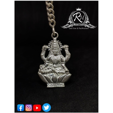 Silver laxmiji godess keychain rH-kT75