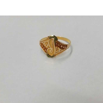 18kt Gold Stylish Ring