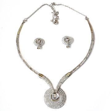 925 sterling silver necklace mga - sn004