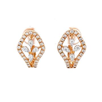 Mignonne diamond bali in premium quality diamonds...
