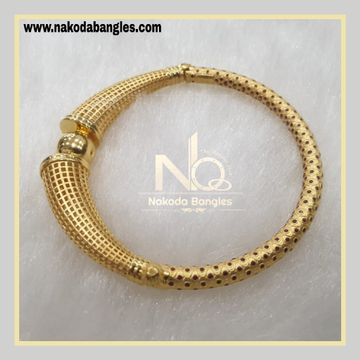 916 Gold Pipe Bangles NB - 880