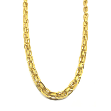 916 Gold Indian Thick Chain For Gents