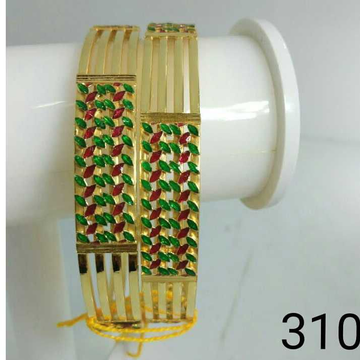 916 Gold Modern Kada