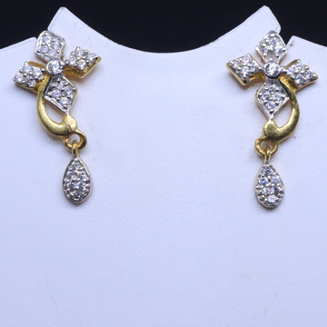 22KT / 916 Gold fancy Square Flower earring for Ladies BTG0311