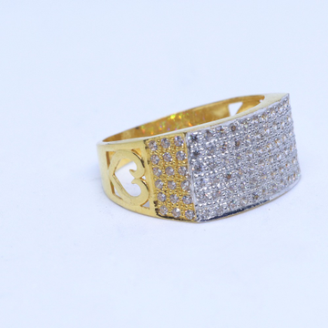 22KT / 916 Gold CZ fancy daily ware ring for men GRG0014
