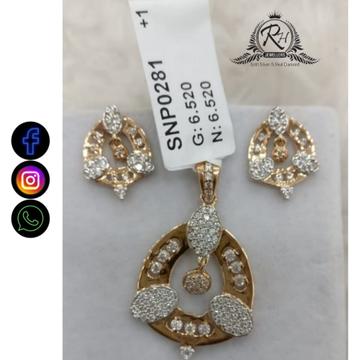 22 carat gold fancy earring set RH-ER685