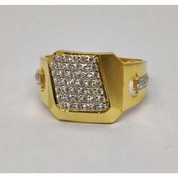 916 Gents Fancy Gold Ring Gr-28574