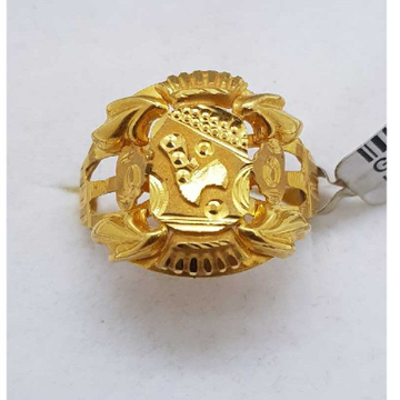 916 Gold Najarana gents ring SJ-GR/39
