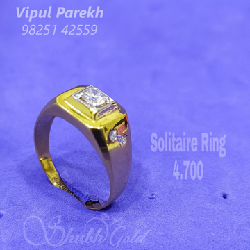Solitaire Jents Ring