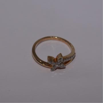 18K gold diamond ring agj-lr-299