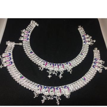 Silver Meena khili Payal SL-0001