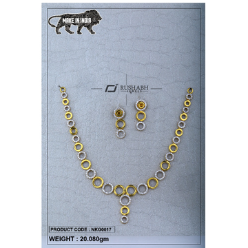 22 Carat 916 Gold Ladies Round necklace nkg0017