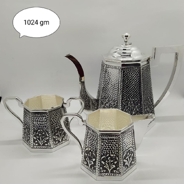 Silver tea pot set jys0024