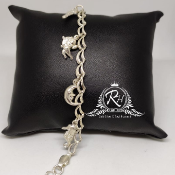 92.5 silver antic ladies bracelet Rh-Ly965