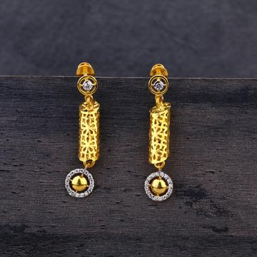 916 Gold Designer  Jhummar Earring LJE192