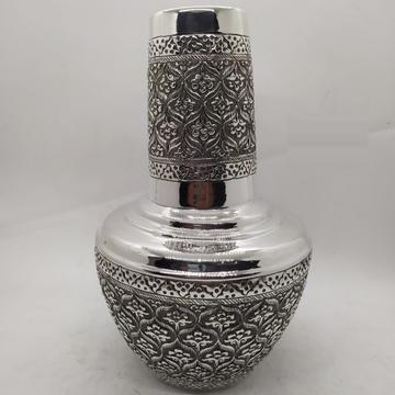 92.5% Pure Silver Designer Kunja Surayi Set with G... by Puran Ornaments
