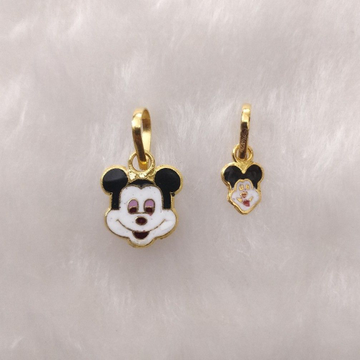 916 Gold Children Special Design Of Mickey Mouse