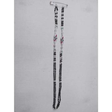 2(Two) Line Bol Casting Single Box Chain Black(Kala) Pearl(Moti) Mangalsutra Ms-2523