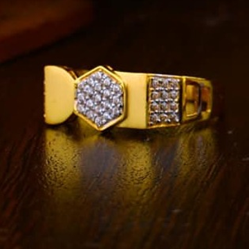 916 Gold Gents Ring 0014