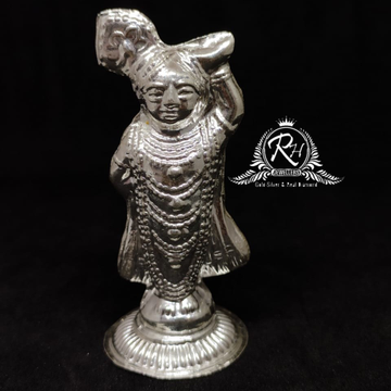 silver childhood krishna bhagvan murti rh-mt955