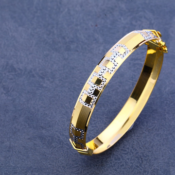 916 Gold Designer Hallmark kada MPLKB16