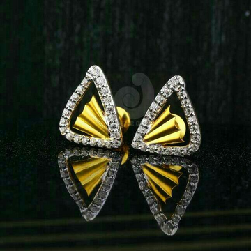 18ct Exclusive Cz Gold Tops