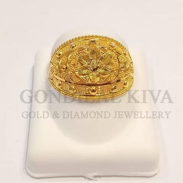 22kt gold ring gLR-h109