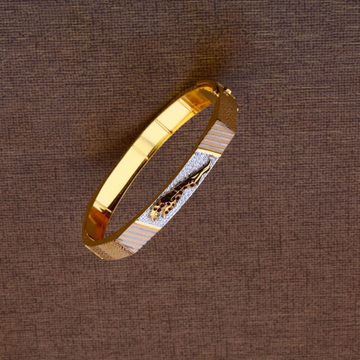 Gents modern jaguar bracelet 916 by
