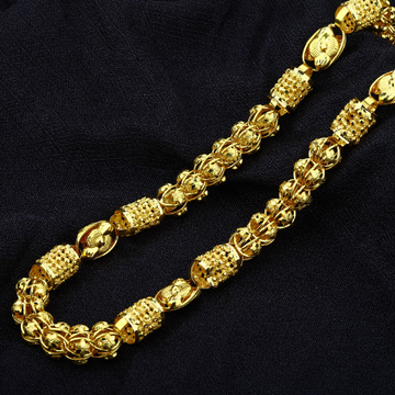 Mens Gold 916 Chain-MIC06