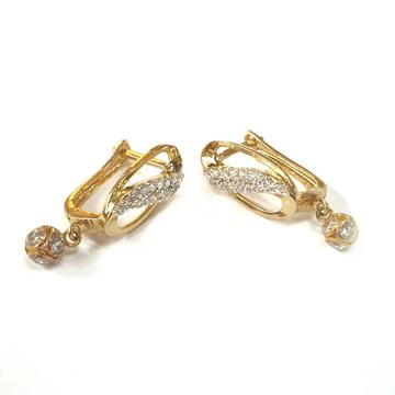 18K Gold Earrings MGA - GB0010
