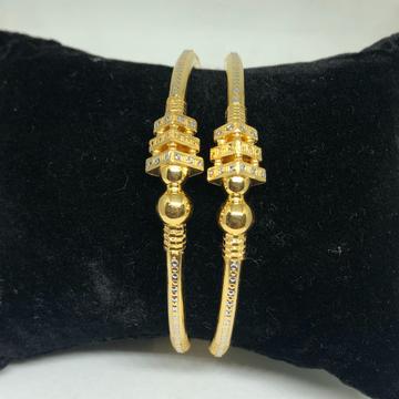 916 Gold Designer Kadli Bangle VN-B12