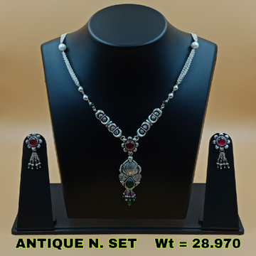 92.5 ANTIQUE NECKLACE SET SL N021